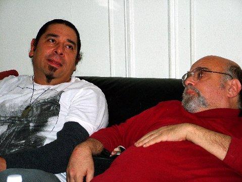 Ric Menello with Juan Carlos Pinto