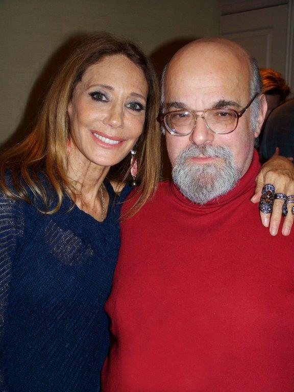 Ric with Marisa Berenson