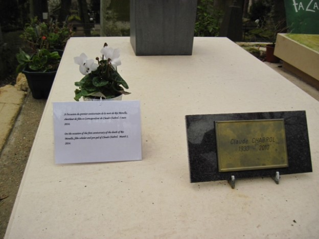 Grave of Claude Chabrol