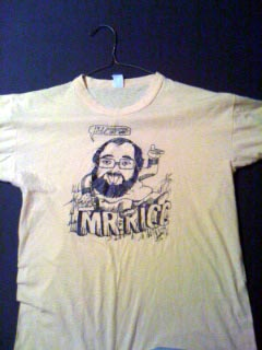 Mr. Ricc T-Shirt by Chris Columbus